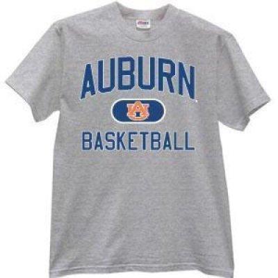 on sale b0c3e c7a27 Auburn Tigers T-shirt - Dark Ash Basketball