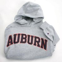 Auburn Sweatshirt By Champion - Two Color Logo - Heather
