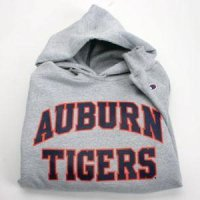 Auburn Sweatshirt By Champion - Auburn Over Tigers - Heather