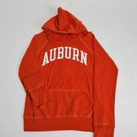 Auburn Hooded Sweatshirt - Ladies Hoody By League - Orange