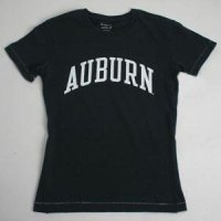 Auburn T-shirt - Ladies By League - Navy