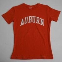 Auburn T-shirt - Ladies By League - Orange