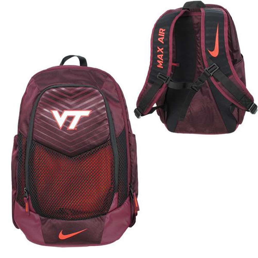 Nike Virginia Tech Hokies Vapor Power Backpack 5b053b8e53412
