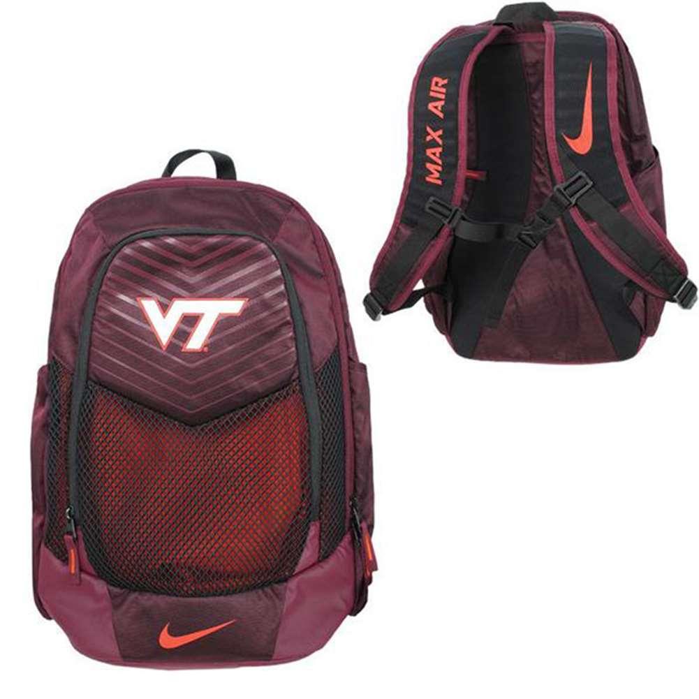 Nike Virginia Tech Hokies Vapor Power Backpack bfcc5b70e65ad