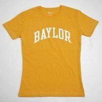Baylor T-shirt - Ladies By League - Yellow