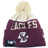 Boston Eagles New Era Sport Knit Pom Beanie