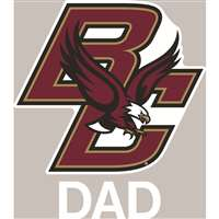 Boston College Eagles Transfer Decal - Dad