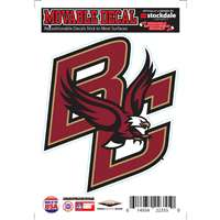 Boston College Eagles Repositionable Vinyl Decal