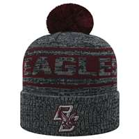 Boston College Eagles Top of the World Sock It 2 Me Knit Beanie