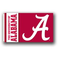 Alabama Crimson Tide Script 'a' Flag - 3' X 5'