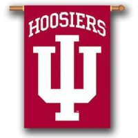 "Indiana 2-sided Premium 28"" X 40"" Banner"