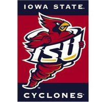 "Iowa State 2-sided Premium 28"" X 40"" Banner"