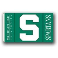 Michigan State 2-sided 3' X 5' Flag