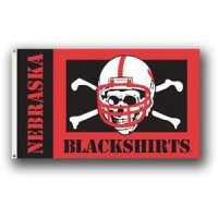 Nebraska Blackshirts 3' X 5' Flag