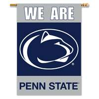 Penn State Nittany Lions 2-sided Premium 28 Inch X 40 Inch Banner - We Are Penn St