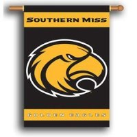 "Southern Mississippi 2-sided Premium 28"" X 40"" Banner"