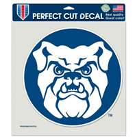 "Butler Bulldogs Full Color Die Cut Decal - 8"" X 8"""