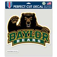 "Baylor Bears Full Color Die Cut Decal - 8"" X 8"""