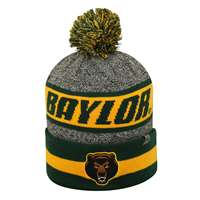 Baylor Bears Top of the World Cumulus Pom Knit Beanie