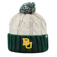 Baylor Bears Top of the World Womens Gust Pom Knit Beanie