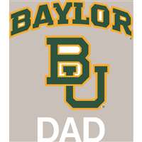 Baylor Bears Transfer Decal - Dad