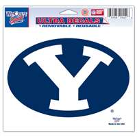 "Byu Cougars Ultra Decal 5"" x 6"""