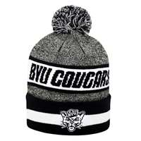 BYU Cougars Top of the World Cumulus Pom Knit Beanie