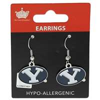 Byu Cougars Dangler Earrings