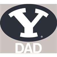 BYU Cougars Transfer Decal - Dad