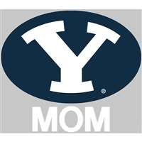 BYU Cougars Transfer Decal - Mom