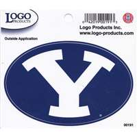 "BYU Cougars Logo Decal - 8"" x 5"""