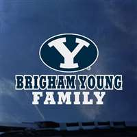 BYU Cougars Transfer Decal - Family