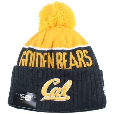 California Golden Bears New Era Sport Knit Pom Beanie