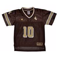 Wyoming Toddler Charger Football Jersey