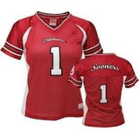 Oklahoma Women's Colosseum Dynasty Football Jersey - #1