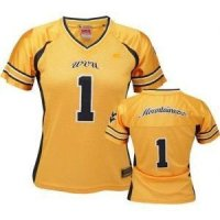 West Virginia Women's Colosseum Dynasty Football Jersey - #1