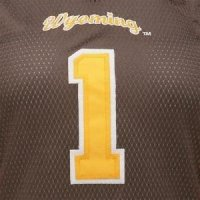 Wyoming Women's Colosseum Dynasty Football Jersey - #1