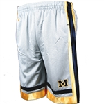 Michigan Youth Staple Workout Short By Colosseum