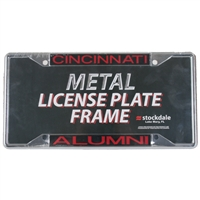 Cincinnati Bearcats Metal Alumni Inlaid Acrylic License Plate Frame