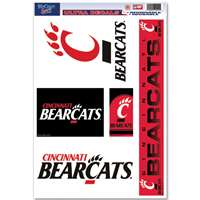 Cincinnati Bearcats Ultra Decal Set - 11'' X 17''