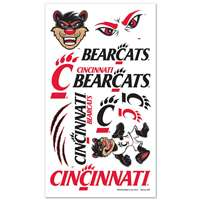 Cincinnati Bearcats Temporary Tattoos