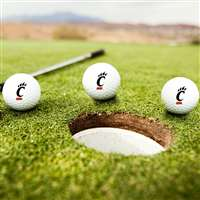 Cincinnati Bearcats Golf Balls - Set of 3