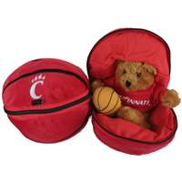 Cincinnati Bearcats Stuffed Bear in a Ball - Basketball