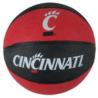 Cincinnati Bearcats Mini Rubber Basketball