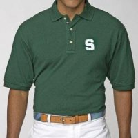 Michigan State Spartans Tommy Hilfiger Club Polo