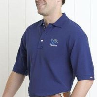 Memphis Tigers Tommy Hilfiger Club Polo