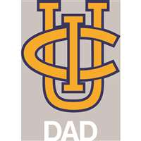 UC Irvine Anteaters Transfer Decal - Dad