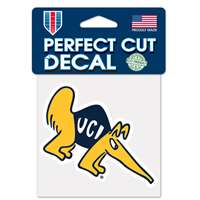 "UC Irvine Anteaters Full Color Die Cut Decal - 4"" X 4"""