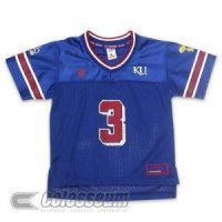 Kansas Jayhawks Youth Charger Football Colosseum Jersey