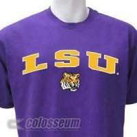 Lsu Campus Yard Applique Colosseum T-shirt